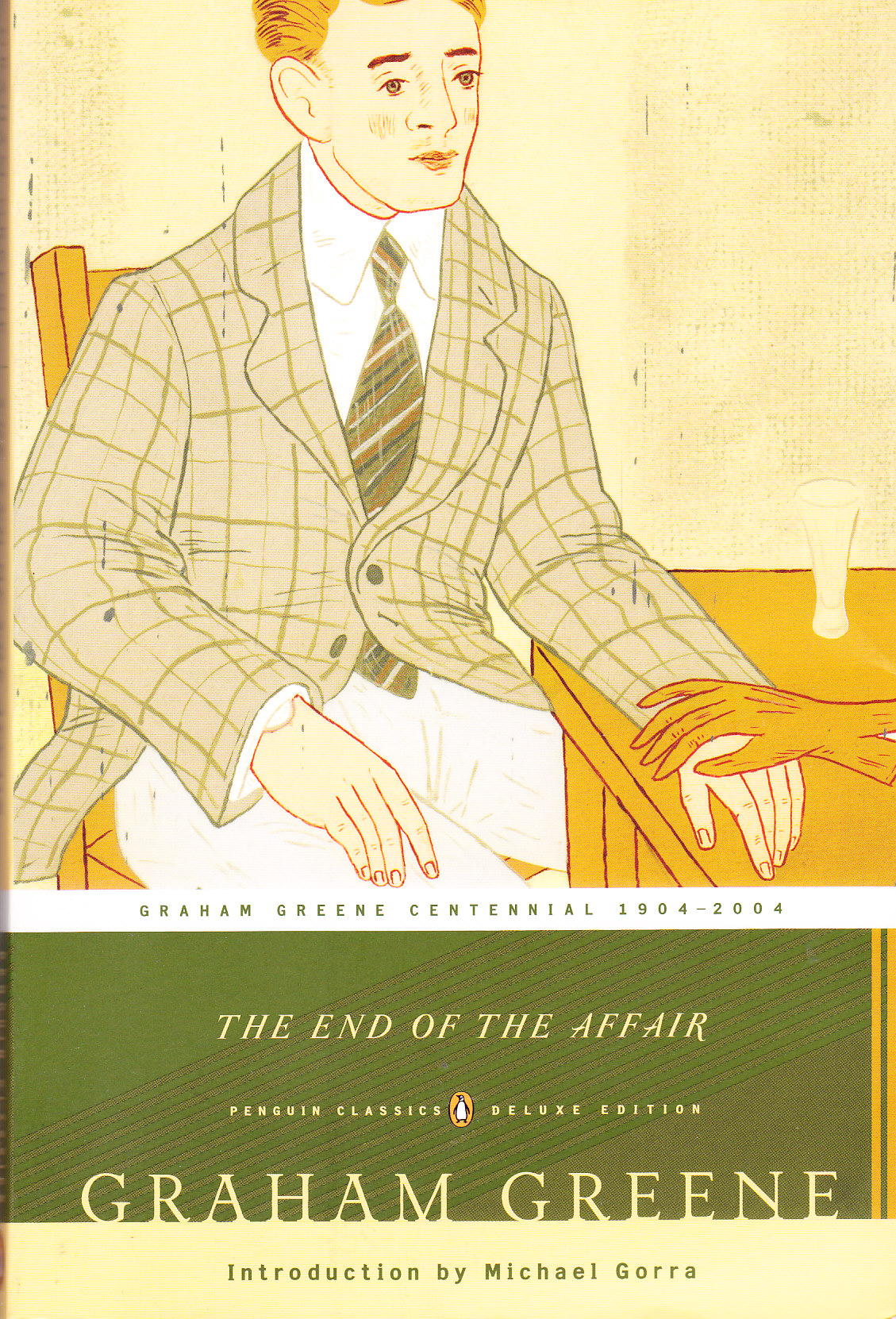 the homosocial relationship in the end of the affair a novel by graham greene Pages in category novels about writers  love instead of homosocial friendships the relationship between  her novel to evelyn waugh and graham greene and.